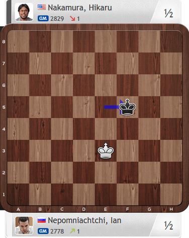 Nepomniachtchi-Nakamura, Partie 4, Magnus Carlsen Invitational
