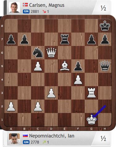 Nepomniachtchi-Carlsen, Partie 4, Magnus Carlsen Invitational