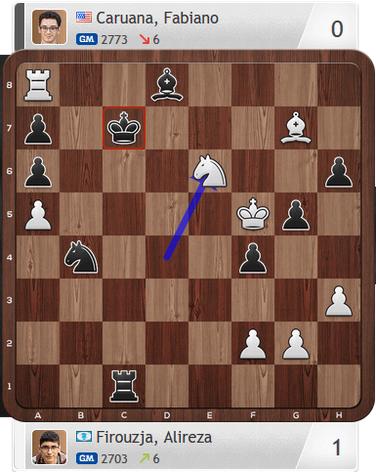 Firouzja-Caruana, Partie 3, Magnus Carlsen Invitational
