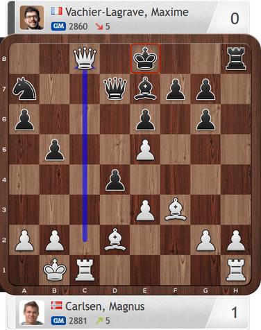 Carlsen-MVL, Partie 3, Magnus Carlsen Invitational