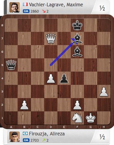 Firouzja-MVL, Partie 4, Magnus Carlsen Invitational