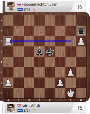 Giri-Nepomniachtchi, Partie 3, Magnus Carlsen Invitational