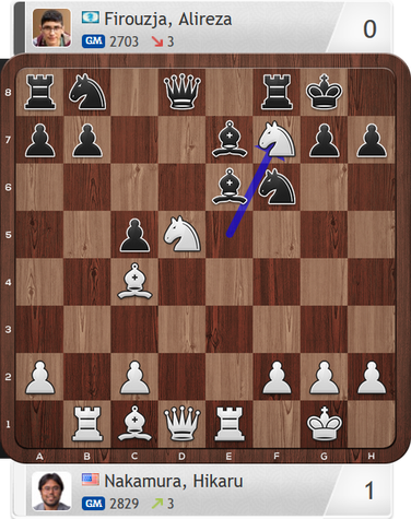 Nakamura-Firouzja, Partie 4, Magnus Carlsen Invitational