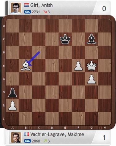 Magnus Carlsen Invitational, MVL-Giri, Partie 1