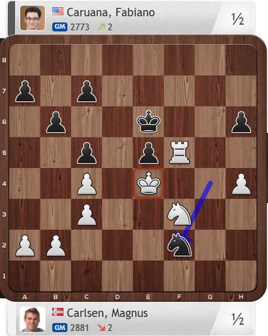 Carlsen-Caruana, Partie 4, Magnus Carlsen Invitational