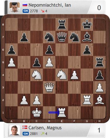 Carlsen-Nepomniachtchi, Partie 3, Magnus Carlsen Invitational