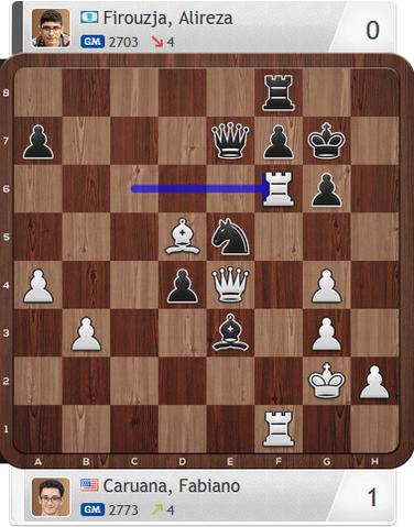 Caruana-Firouzja, Partie 2, Magnus Carlsen Invitational