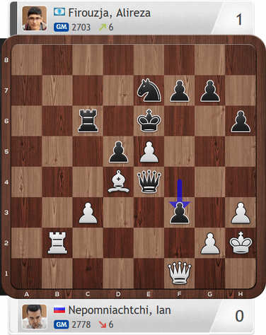 Nepomniachtchi-Firouzja, Partie 1, Magnus Carlsen Invitational