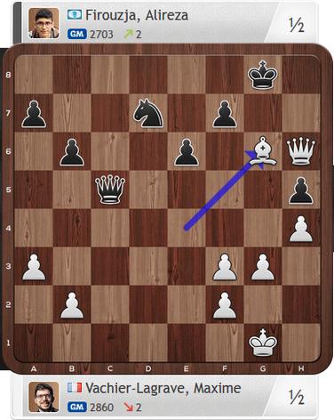 MVL-Firouzja, Partie 1, Magnus Carlsen Invitational