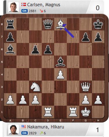 Nakamura-Carlsen, Partie 4