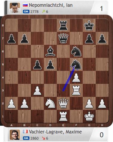 MVL-Nepomniachtchi, Armaggedon-Partie, Magnus Carlsen Invitational