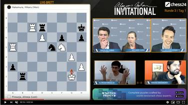 Magnus Carlsen Invitational, Verbindungsabbruch Alireza Firouzja