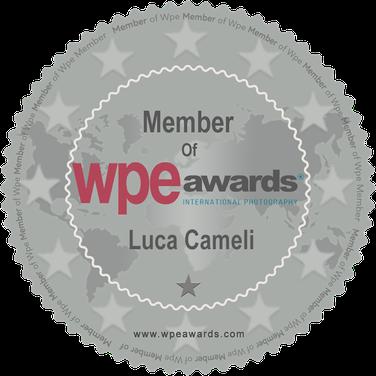 LUCA CAMELI MEMBER WPE AWARDS INTERNATIONAL PHOTOGRAPHY
