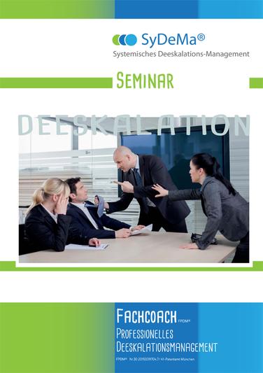 Entwurf und Gestaltung von Ausschreibungsunterlagen Thema Deeskalation für SyDeMa