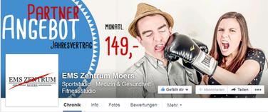 Facebook Titelbild für EMS-Zentrum Moers