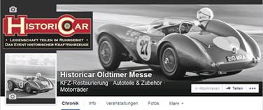 Gestaltung des Facebook Titelbildes für Historicar Oldtimer Messe