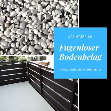 Balkonboden Steinteppich Balkonsanierung
