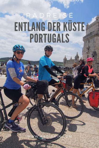 Radreise entlang der Küste Portugals