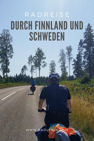 Radreise durch Finnland und Schweden