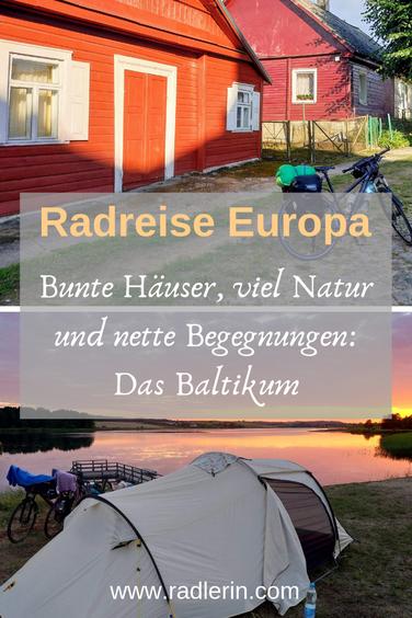 Radreise Europa. Bunte Häuser, viel Natur und nette Begegnungen: Das Baltikum
