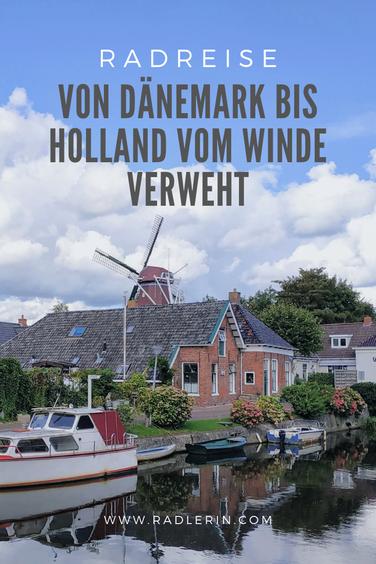 Radreise Europa: Von Dänemark bis Holland vom Winde verweht