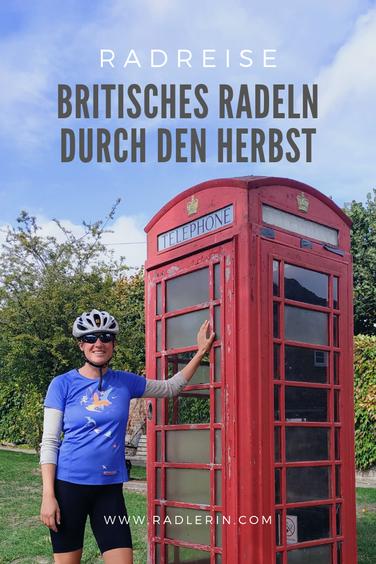 Radreise Europa: Britisches Radeln durch den Herbst