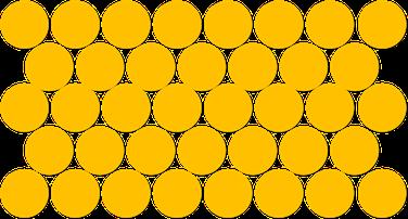 Teilchenmodell eines Feststoffes