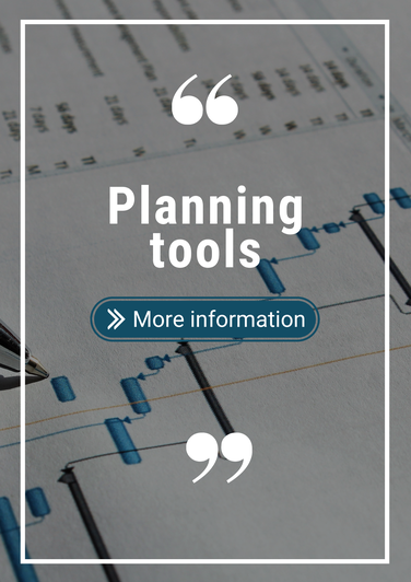 Schedule with the text planning tools