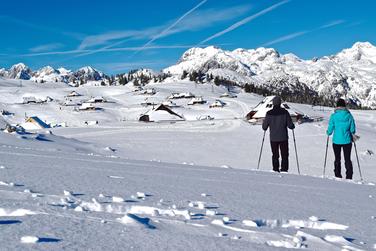 Top 6 Winter Activities in Slovenia - Snowshoeing at Velika Planina