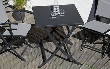 Sonnenwetter Tische