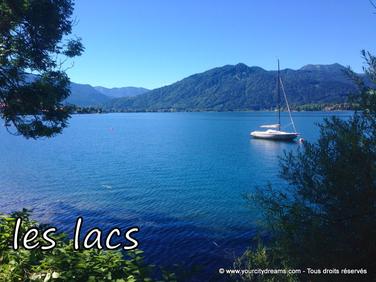 voyage en Bavière - Lac de Tegernsee