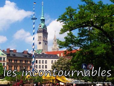 voyage en Bavière - Les incontournables à Munich