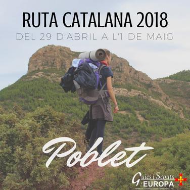 Ja tenim aquí la Ruta Catalana 2018!