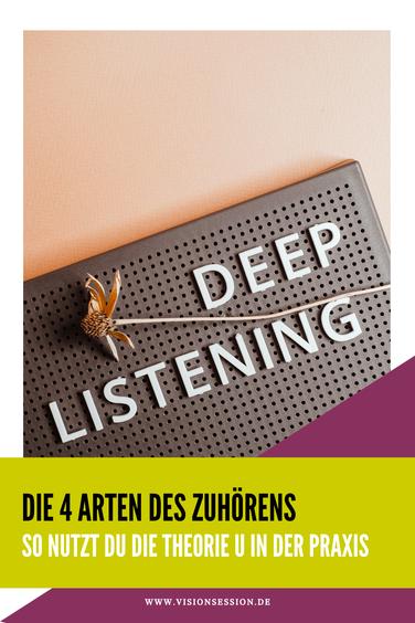 Die 4 Arten des Zuhörens