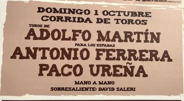 Antonio Ferrera remplacé par Juan Bautista