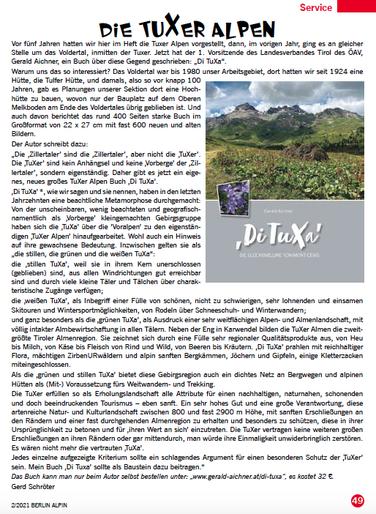 Alpinclub Berlin Magazin 2021