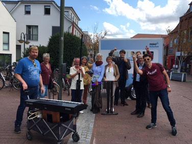Chor Singt! aus Heidmühlen beim Stadtfest Bad Segeberg 2018