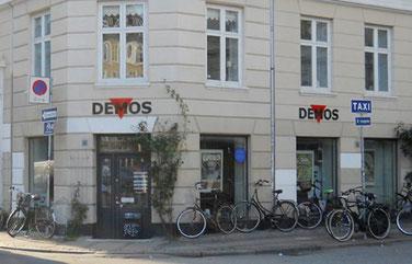 Demos' butik: Elmegade 27, København N.