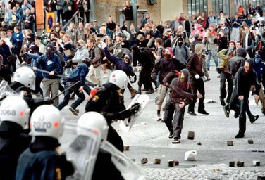 Konfrontationer i Gøteborg ifm. EU-topmødet i byen