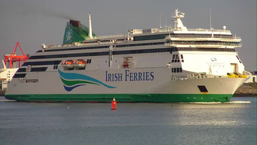 Irish Ferries' flagship M/S Ulysses, introduced in 2000 on the route linking Dublin and Holyhead.