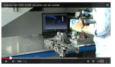 3D-scan Kurbelgehäuse Scooter