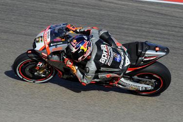 Ohne Fortune in seinem MotoGP Rennen in Aragon: Stefan Bradl