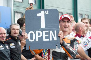 Hat allen Grund über sein Ergebnis in der MotoGP zu jubeln: Loris Baz