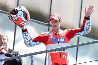 Andrea Doviziose auf dem 3. Platz in Le Mans