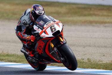 Stefan Bradl für Aprilia auf Phillip Island 2015 in der MotoGP