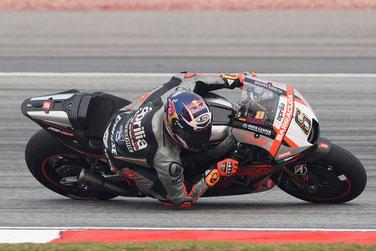 Stefan Bradl für Aprilia in der MotoGP 2015 in Sepang