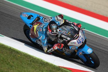 Scott Redding auf seiner Honda in der MotoGP in Mugello