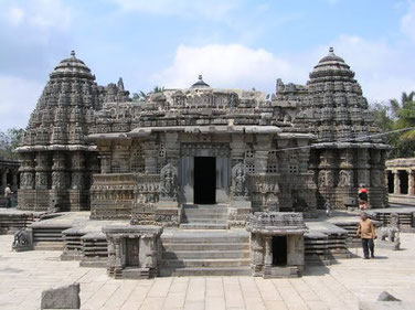 Somanathapura, Karnataka, Indien   Keshava Tempel