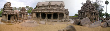 Seven Pagodas of Mahabalipuram