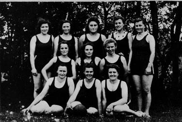 Damen-Feldhandball-Mannschaft